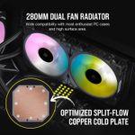 Corsair iCUE H115i ELITE CAPELLIX 280mm  - CPU Liquid Cooler